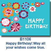 B1106 Birthday Flowers