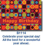 Lots of Dots Birthday Card