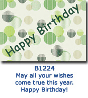 Contempo Spots Birthday Card