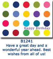 Lots of Spots Birthday Card
