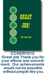 CCSER1012 Great Job