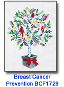 BCF1729 Holiday Tree Christmas Card