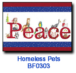 BF0303 Peace Animals