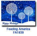 FA1839White Tree Trilogy charity Holiday Card