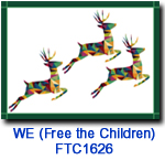 FTC1626 Triple Stag Holiday Card