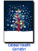 WE1728 Three Gifts Christmas card