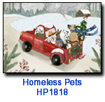 HP1818 Truckful of Friends charity holiday card