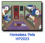 HP2033 Nap Time charity holiday card