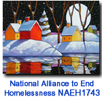 NAEH1743 Night Snow Reflection Holiday Card