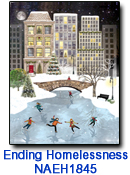 NAEH1845 Urban Skaters charity Holiday Card