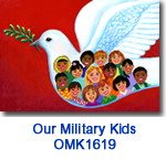 OMK1619 Dove with kids