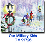 OMK1726 Family Time Holiday Card