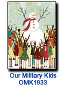 WE1830 Children of the World charity holiday card
