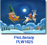 PLW1625 Reindeer Rider Holiday Card
