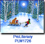 PLW1726 PULL Charity Holiday card
