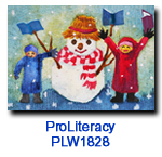 PLW1828 Our Pal charity Holiday Card supporting ProLiteracy