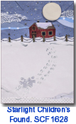 SCF1628 Snow Angels holiday card