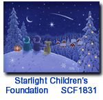 SCF1831 Peaceful Night charity holiday card