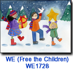 WE1728 Three Gifts charity holiday card