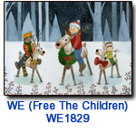 WE1829 Reindeer Riders charity holiday card