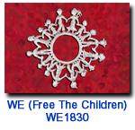 WE1830 Children of the World vharity holiday card