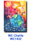 GH1830 Peace Dove Charity Holiday Card